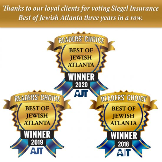 Best of Jewish Atlanta – Insurance Agency