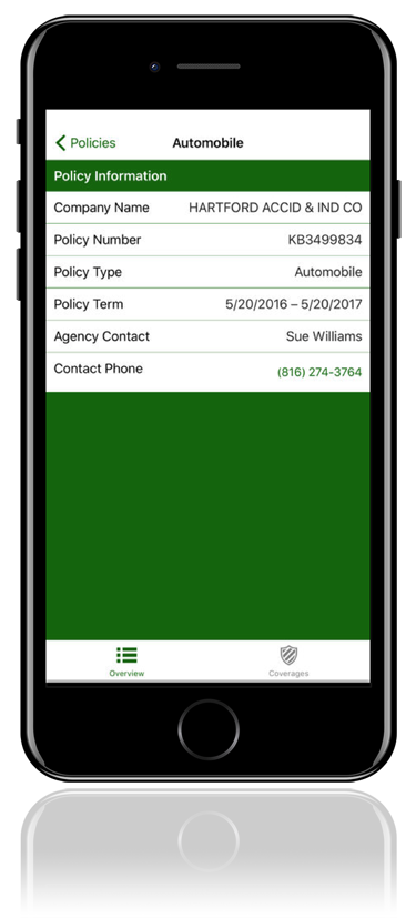 Siegel Insurance Mobile App